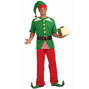 Jolly Elf Adult Costume - One Size