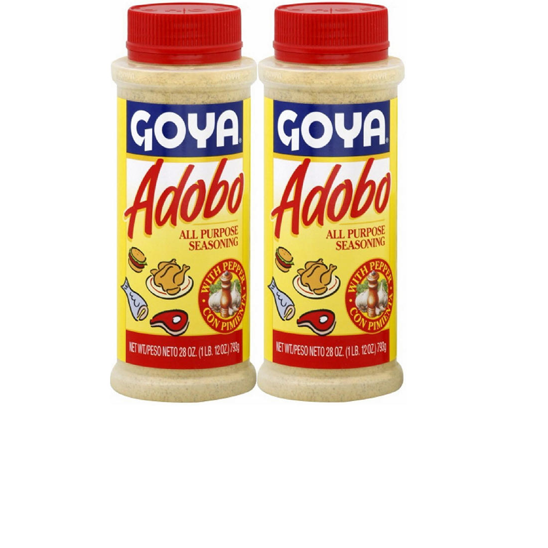Goya Adobo All-Purpose Seasoning, 2 pk /28 oz  - BJs