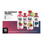 Bai Antioxidant Variety Pack, 15 ct./18 oz.