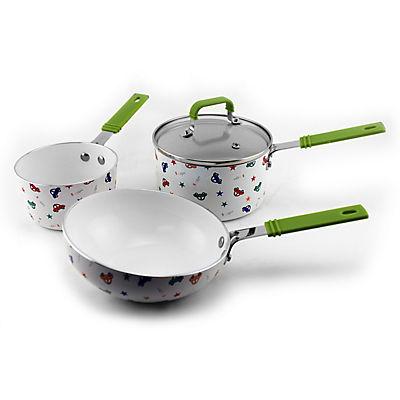 BergHOFF International Children's Cookware Set, 3 pc. - Cars and Stars
