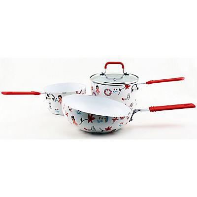 BergHOFF International Children's Cookware Set, 3 pc. - Flowers