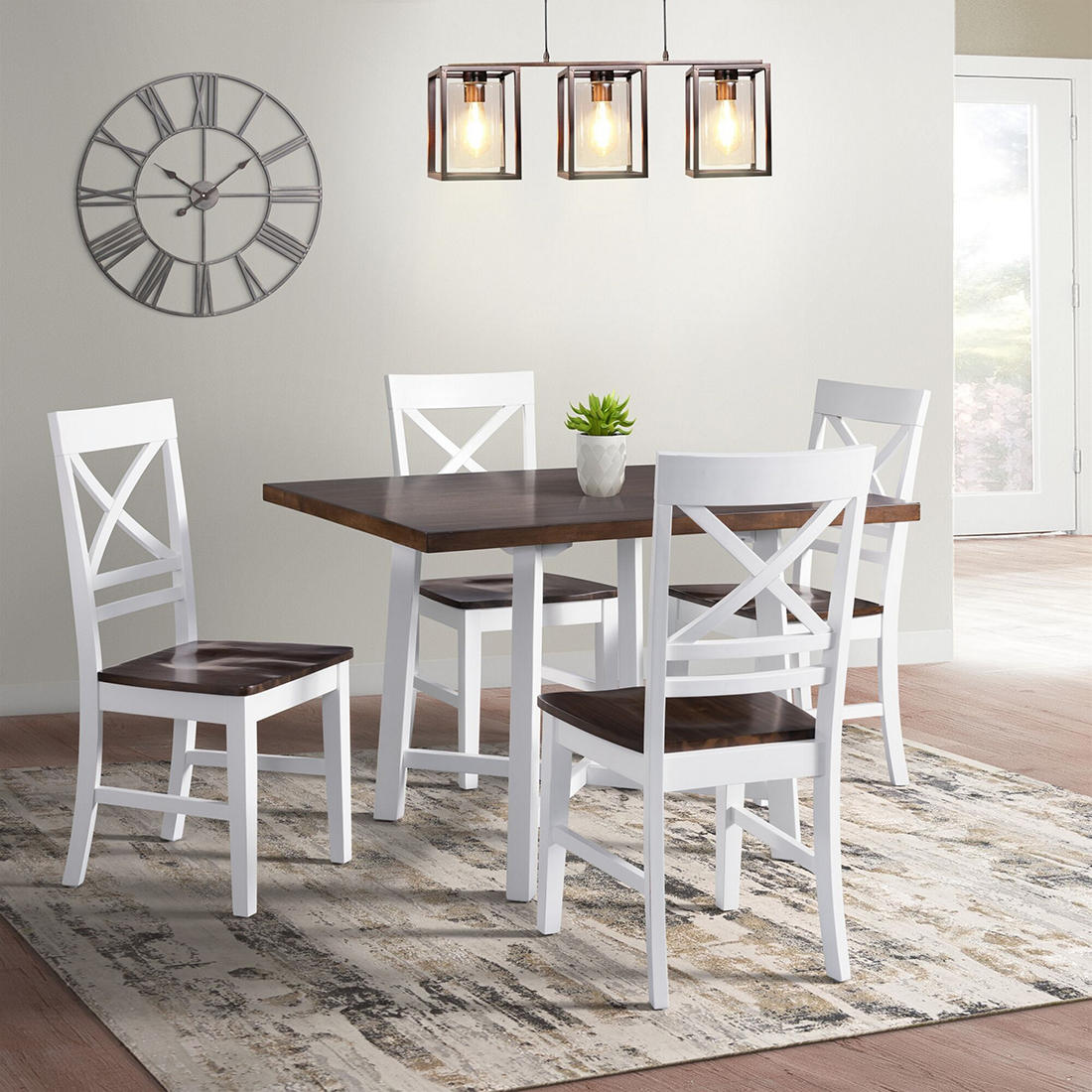 Wondrous Elements El Paso 5 Pc Dining Set Ocoug Best Dining Table And Chair Ideas Images Ocougorg