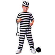 Jailbird Child Costume - Small