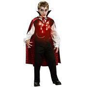 Lite-Up Vampire Child Costume - Large