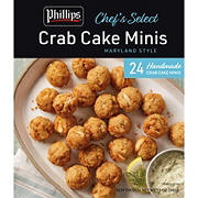 Phillips Chef's Select Crab Cake Minis, 24 ct.