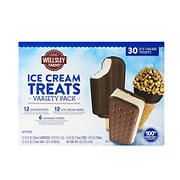 Wellsley Farms Ice Cream Treats Variety Pack, 30 ct.