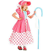 Polka Dot Bo Peep Child Costume - Medium