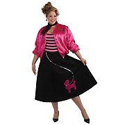 Poodle Skirt Costume Set - Plus