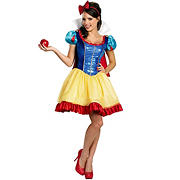 Deluxe Sassy Snow White Adult Costume - Small