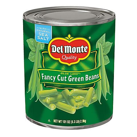 Fancy Cut Green Beans, 101 oz
