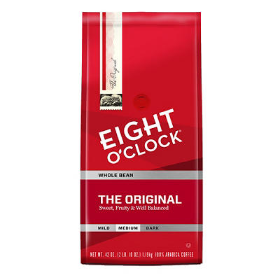 Eight O'Clock Original Arabica Whole Bean Coffee, 42 oz.