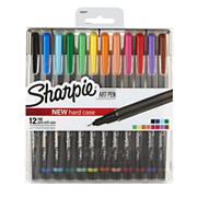 Sharpie Art Pens With Case, 12 ct.
