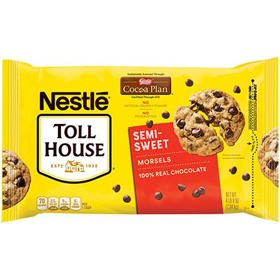 Nestle Toll House Morsels, 72 oz.