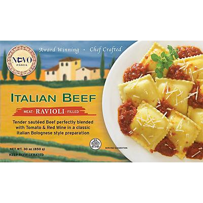 Nuovo Pasta Italian Beef Ravioli, 30 oz.