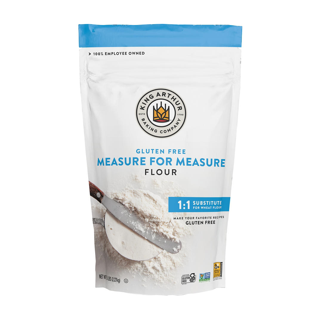 photograph about King Arthur Flour Printable Coupon called King Arthur Evaluate for Evaluate Gluten-free of charge Flour, 5 lbs ..