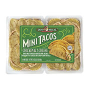 Don Miguel Chicken & 2-Cheese Mini Tacos, 50 ct./35 oz.
