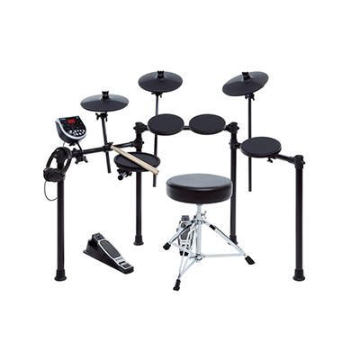 ION Audio 7-Pc. Electronic Drum Burst Kit with Headphones
