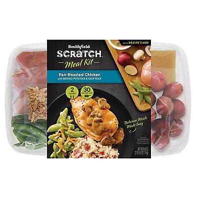 Smithfield Scratch Pan-Roasted Chicken Meal Kit, 35.6 oz.
