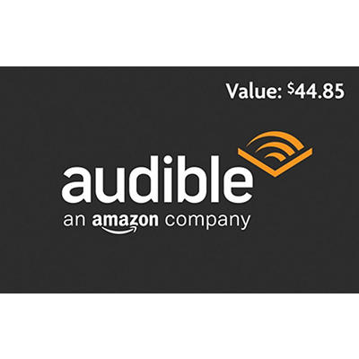 Audible 3 Month Gift Card