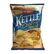 HERR'S  All Natural Kettle Cooked Potato Chips, 16 oz.