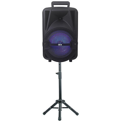 "QFX 8"" Portable Party Bluetooth Speaker System"
