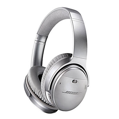 Bose Noise Canceling Wireless Headphones - Silver