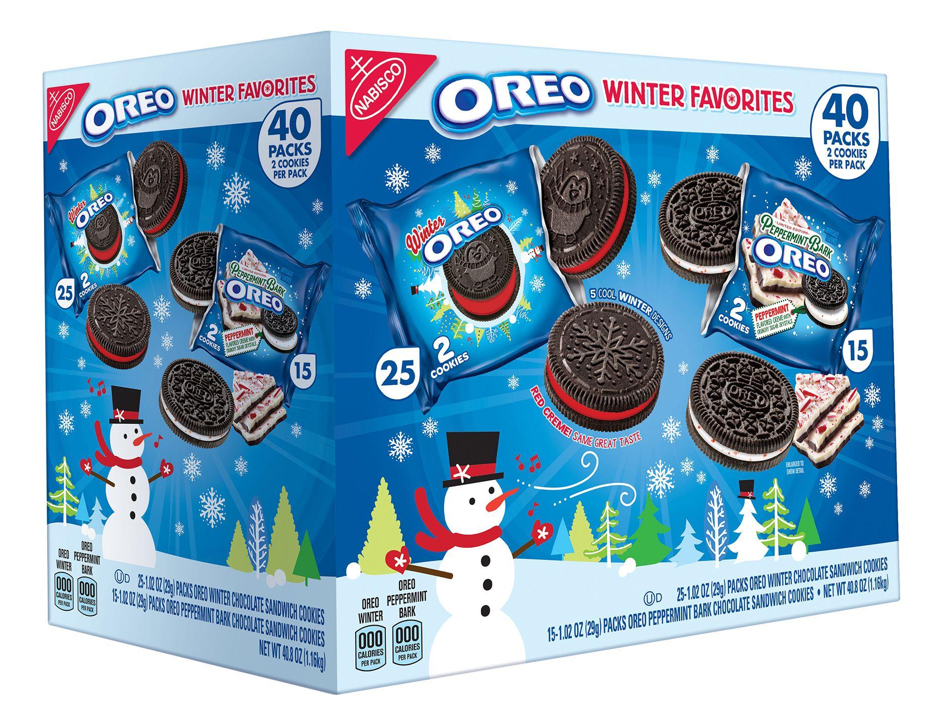 Nabisco oreo winter favorites variety pack pk oz bjs