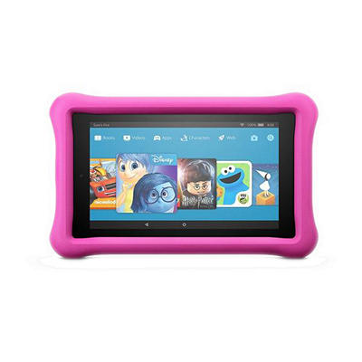 """Amazon Fire 7"""" Kids Tablet, 16GB Memory - Pink"""