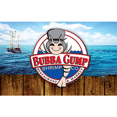 $90 Bubba Gump Shrimp Co. Gift Card
