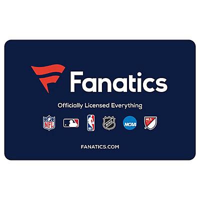$50 Fanatics Gift Card, 2 pk.