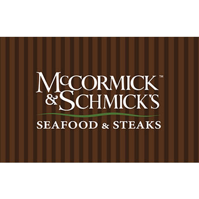 $90 McCormick & Schmick's Seafood & Steaks Gift Card