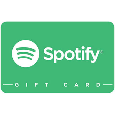 Spotify Premium Annual Subscription Gift Card