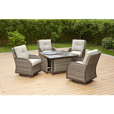 Berkley Jensen Casco Bay 5-Pc. Fire Pit Chat Set