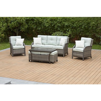 Berkley Jensen Casco Bay 6-Pc. Patio Set - Green