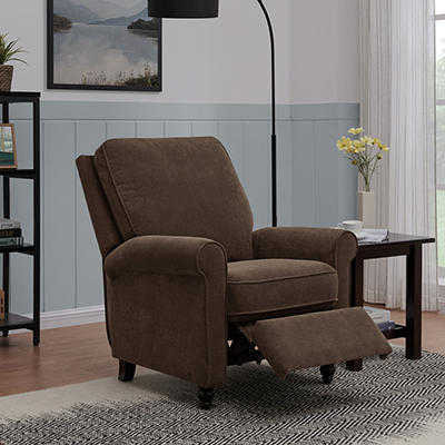 ProLounger Push-Back Recliner - Chocolate