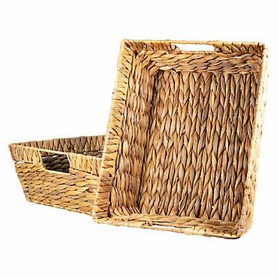 Water Hyacinth Baskets, 2 pk.