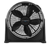 "Air Monster 20"" Monster Power Floor and Wall Fan - Black"