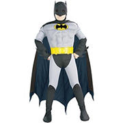 Boys Batman Costume with Muscle Chest - Medium