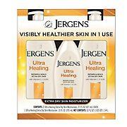 Jergens Ultra Healing Lotion, 2 pk./21 oz. with Bonus Bottle, 10 oz.
