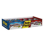 Hershey's Mounds and Almond Joy Bars, 24 ct.