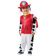 Paw Patroll Marshall Toddler Costume, Sizes 2T-4T