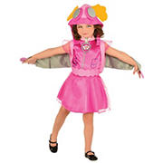 Girls Paw Patrol Skye Costume, Size 4-6
