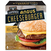 Steak-EZE Angus Cheeseburgers, 8 ct.