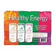 Aspire Variety Energy Drink, 12 pk./12 oz.