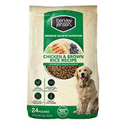 Berkley Jensen Chicken and Brown Rice Dry Dog Food, 24 lbs.