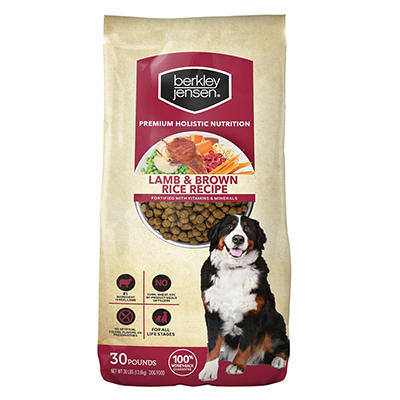 Berkley Jensen Premium Holistic Nutrition Lamb and Brown Rice Dry Dog