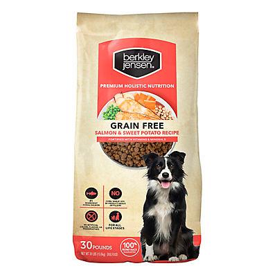 Berkley Jensen Grain Free Salmon and Sweet Potato Dry Dog Food, 30 lbs.