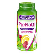 VitaFusion PreNatal DHA, Folate and Multivitamin Gummy, 180 ct.