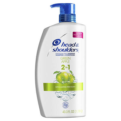 Head and Shoulders Green Apple Anti-Dandruff 2 in 1 Shampoo and Condit