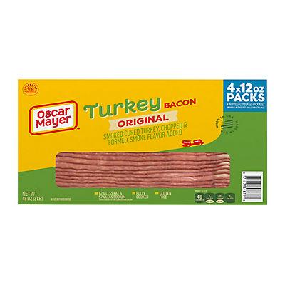 Oscar Mayer Turkey Bacon, 4 pk./48 oz.